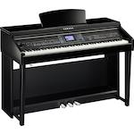 Yamaha Clavinova Digital Piano, CVP601, Polished Ebony CVP601PE