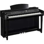 Yamaha Clavinova Digital Piano, Polished Black CVP605PE