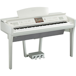 Yamaha CVP709 Clavinova Digital Piano, Polished White CVP709PWH