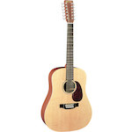 Martin 12 String Acoustic Guitar X Series Dreadnought Size D12X1AE