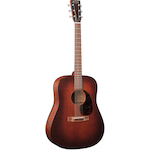 Martin Acoustic Guitar 17 Series Dreadnought Size w/Case D17M
