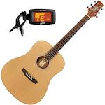 Ashton D20NTM Acoustic Guitar Package D20NTM-CPT50