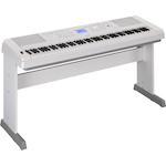 Yamaha Portable Digital Piano, Weighted Keys, White DGX660W