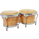 Tycoon Bongos Concerto Series Natural DRTTB800CN
