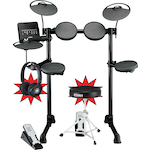 Yamaha DTX400K Electronic Drum Kit with DT130 Throne DTX400K-HPH100-HT10S