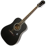 Epiphone Guitar Acoustic DR-100 Ebony EA10EBCH1