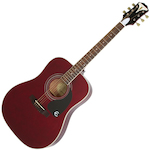 Epiphone Guitar Acoustic Pro-1 Plus Wine Red EAPPWRCH1