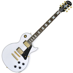 Epiphone Guitar Electric LP Custom Pro Alpine White ENCTAWGH1