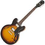 Epiphone Guitar Electric DOT Vintage Sunburst ETDTVSCH1