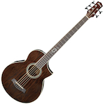Ibanez Exotic Wood Acoustic Bass 5 String, Walnut Natural EWB205WNENT