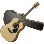 Yamaha F325 Acoustic Guitar with APCW Hard Case Package F325-APCW
