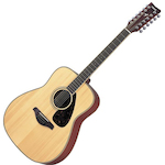Yamaha Acoustic Guitar, 12 String, Solid Top FG720S12