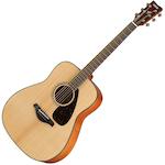 Yamaha Solid Top Acoustic Guitar, Natural FG800NT
