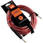 Ashton 10Ft Deluxe Woven Guitar Cable, Red GC10R