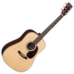 Martin Acoustic Guitar Standard Series Dreadnought Size w/case HD28
