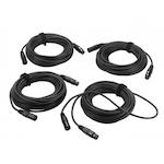 HH Cable Pack Active System, 4x10m XLR HHCPAS