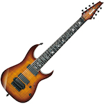 Ibanez J Custom RG 8 Electric Guitar, Brown Garnet Shadow JCRG20138BGA