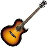 Ibanez Joe Satriani Acoustic/Electric, Vintage Burst JSA5VB