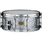 Tama S.L.P. Hammered Steel 14x5.5 Snare LST1455H