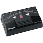 Ibanez Chromatic Guitar and Bass Floor Tuner, Black LU20BK