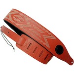 Levy's Guitar Strap, Leather Aztec Design M17NH04BRN