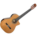 Admira Spanish Classical Guitar, Solid Cedar Top w/ Cutaway MALAGAEC