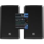 Yamaha and MG10XU Mixer EV ZLX12P Powered Speakers MG10XU-ZLX12P