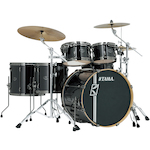 Tama Superstar Hyperdrive Maple 6-piece Drum Kit, Brushed Charcoal Black MK62HZBNSBCB