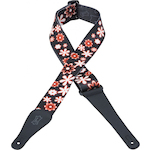 Levy's Guitar Strap, Flowers 2in Poly MPD2003
