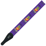 Levy's Guitar Strap, Rat Fink Purple MPRF2011