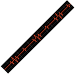 Levy's Guitar Strap, Poly Heartbeat MPS2023