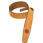 Levy's Guitar Strap, Suede Leather Honey MSS3HNY