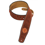 Levy's Guitar Strap, Suede Leather Rust MSS3RST