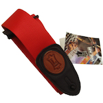 Levy's Guitar Strap, 2in Polyprop Red MSS8RED