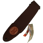 Levy's Guitar Strap, 2in Cotton Brown MSSC8BRN