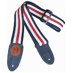 Levy's Guitar Strap, 2in Cotton MSSC8RWB