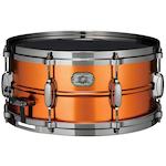 Tama Limited Edition Steel Snare 14x6.5, Satin Orange Metallic MT1465DBNCSOM