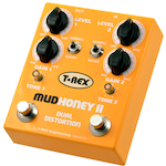 T-Rex Mudhoney Dual Channel Distortion Fuzz Effects Pedal MUDHONEYII