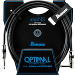Ibanez Optimal 10ft Guitar Cable, Right Angled Plug NS10L