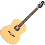 Ashton OM Shaped Acoustic Guitar, Matt Natural OM24NTM