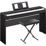 Yamaha P45 Digital Piano, Stand and KS100 Bench Package P45-L85-KS100