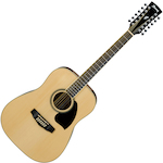 Ibanez Acoustic Guitar 12 String, Natural PF1512NT