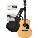 Ibanez PF15NT Acoustic Pack With Bag, Strings, and Tuner PF15NT-IAB101-CU1