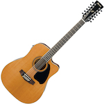 Ibanez Acoustic Electric 12 String Guitar, Low Gloss PF1712ECELG