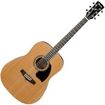 Ibanez Acoustic Guitar, Low Gloss PF17LG