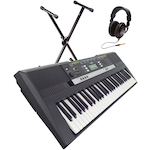 Yamaha PSRE243 Keyboard, Stand and Headphones PSRE243-KSS79-HD25