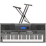 Yamaha PSRE443 Portable Keyboard and Stand PSRE443-JS502D