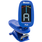 Clip-on Guitar Ukulele Chromatic Tuner, Blue PU3BL