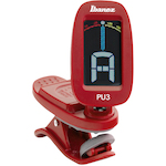 Clip-on Guitar Ukulele Chromatic Tuner, Red PU3RD
