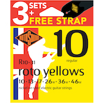 Rotosound 10-46 Electric Strings 3-Pack R103PK